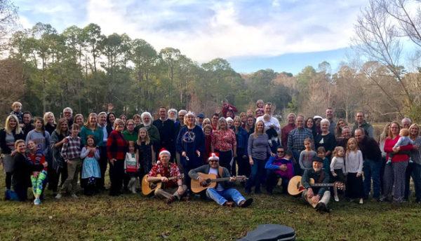 2018 Harriman Caroling complete group