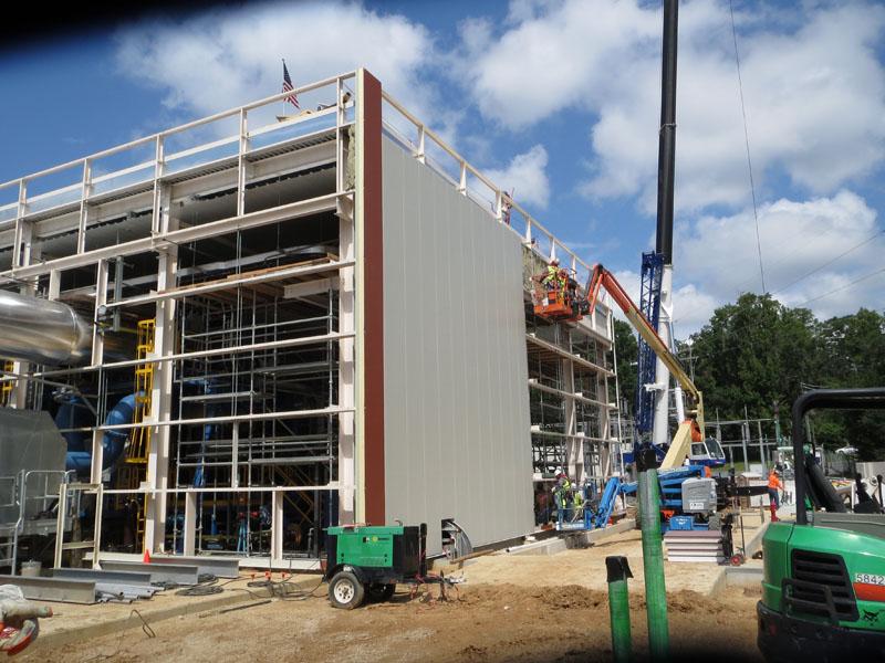 TMH Power Substation under Construction