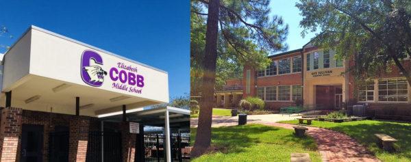 Cobb Middle School and Kate Sullivan Elementary School