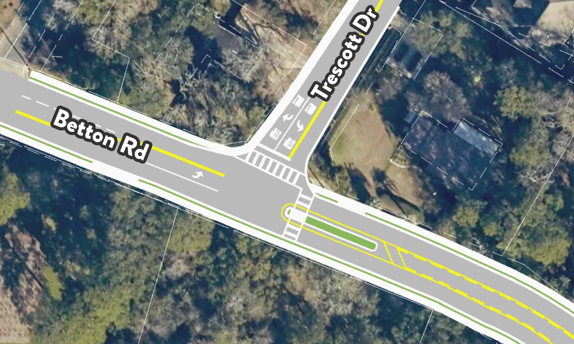 Betton Road Improvments